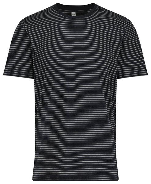men's short pyjamas dark blue dark blue - 1000019188 - hema