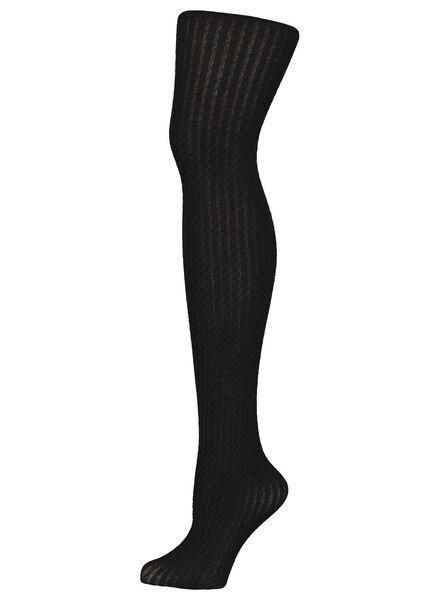 collant épais tendance femme noir noir - 1000016538 - HEMA