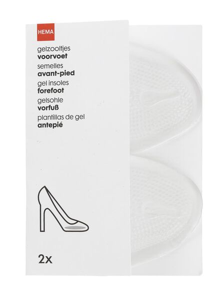 gel insole for front of foot - 20550314 - hema
