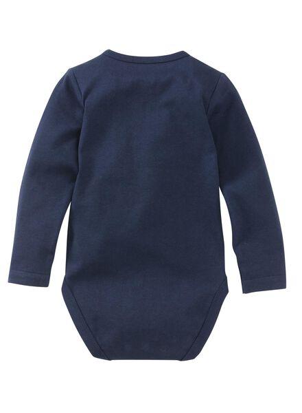 body coton biologique stretch bleu foncé bleu foncé - 1000012122 - HEMA