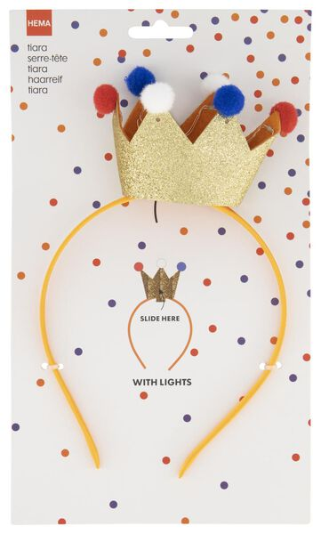tiara with lighting - 25200001 - hema