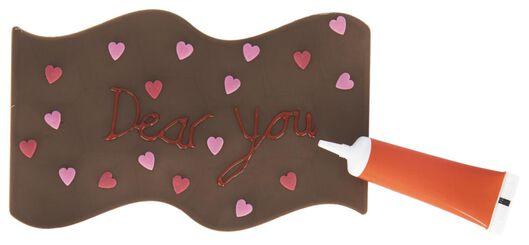 milk chocolate letter 109 grams - 10056005 - hema