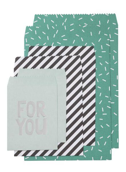 6-pack gift bags - 14700063 - hema