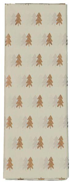8 sheets tissue paper pine trees 70x50 - 25700157 - hema