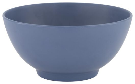 Schälchen, Ø 15 cm, Melamin, mattblau - 80660055 - HEMA