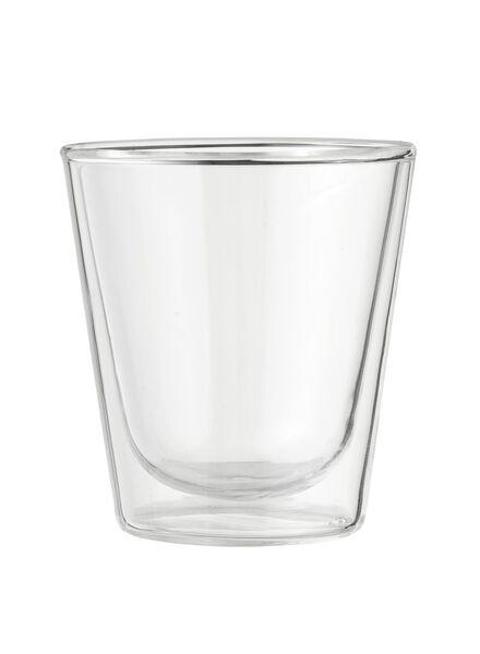 doppelwandiges Glas – 100 ml - 80682145 - HEMA
