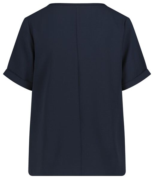women's top dark blue dark blue - 1000019330 - hema