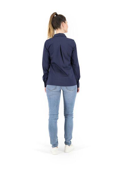 chemisier femme bleu foncé bleu foncé - 1000014861 - HEMA