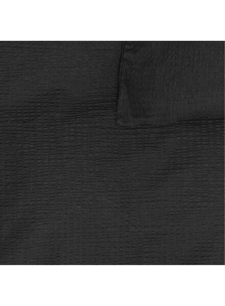 housse de couette - 140 x 200 - coton doux - gris foncé gris foncé 140 x 200 - 5710152 - HEMA