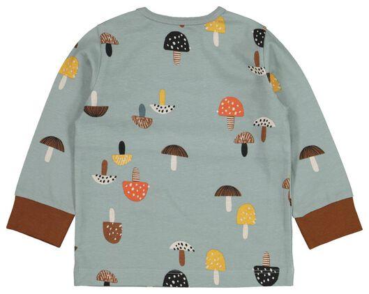 2er-Pack Baby-Pyjamas, Pilze hellblau hellblau - 1000020634 - HEMA