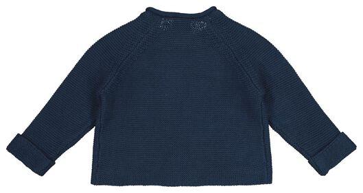 newborn cardigan blue blue - 1000017643 - hema