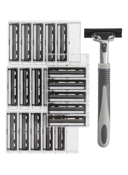 rasoir avec 20 recharges - 11700125 - HEMA