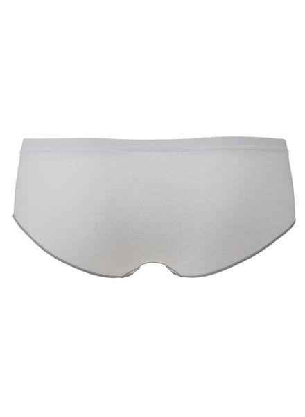 women's hipster panties seamless grey melange grey melange - 1000006547 - hema