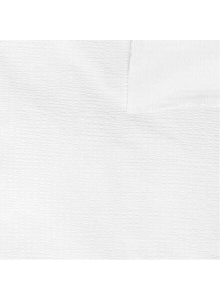 duvet cover - soft cotton - structure white white - 1000016610 - hema
