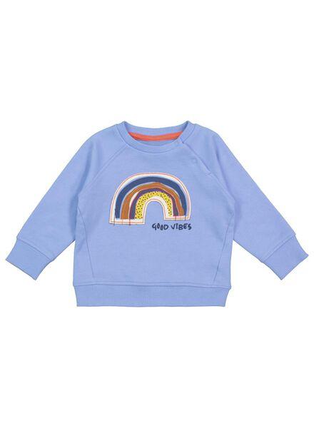 baby sweater blue blue - 1000017502 - hema