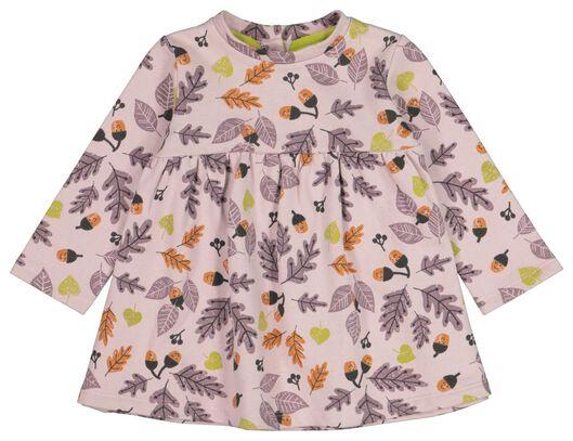 HEMA Baby-Kleid, Blätter Lila