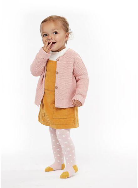 2 collants épais bébé marron marron - 1000014866 - HEMA