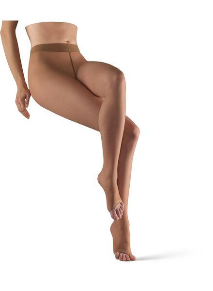 toe-less tights 7 denier natural natural - 1000007287 - hema