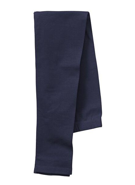 girls leggings dark blue dark blue - 1000006293 - hema