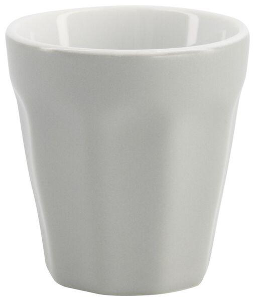 mug - 90 ml - Mirabeau mat - gris - 9602201 - HEMA