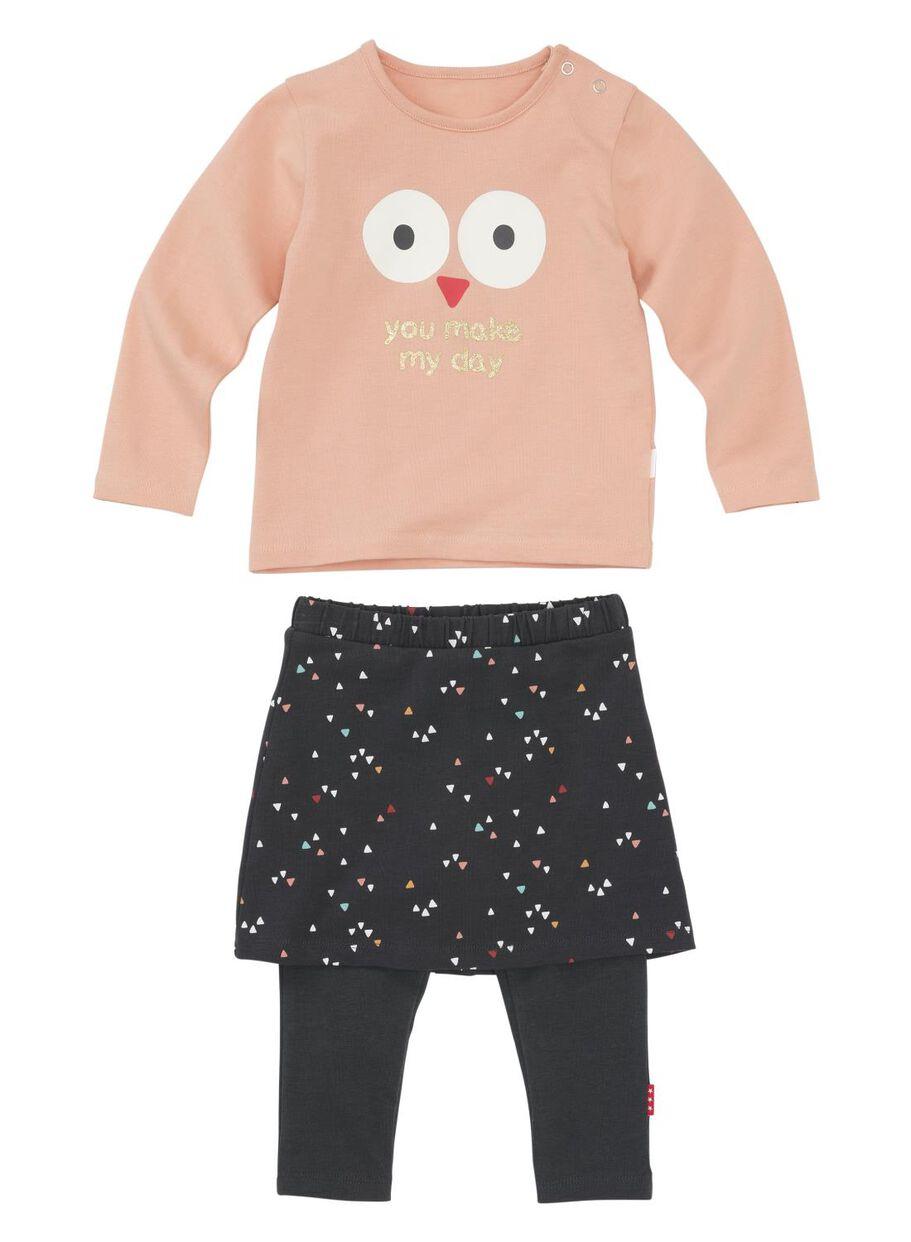 Setjes Babykleding.Newborn Set Roze Hema