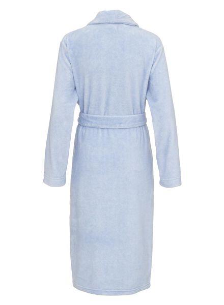 women's bathrobe dark blue dark blue - 1000006657 - hema
