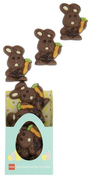 milk chocolate Easter bunnies - 10081037 - hema