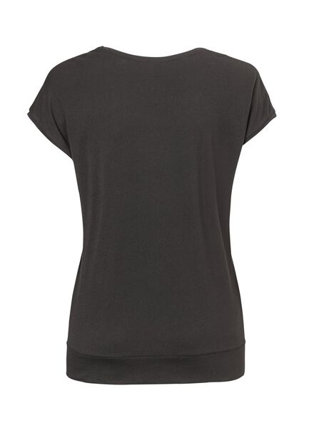 women's T-shirt black black - 1000007799 - hema