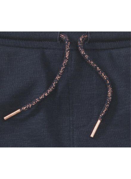 pantalon sweat enfant bleu foncé bleu foncé - 1000013486 - HEMA