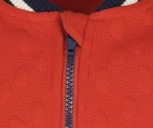 children's bomber cardigan red red - 1000020154 - hema