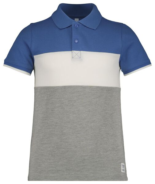 children's polo shirt bright blue bright blue - 1000018925 - hema