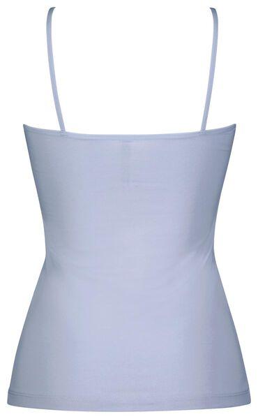 dameshemd spaghettibandjes lichtblauw lichtblauw - 1000024140 - HEMA