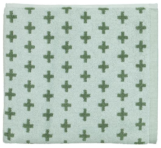 tapis de bain - 50x80 - ton duo vert - 5210127 - HEMA