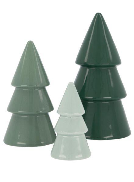 Weihnachtsbaum, 10 cm, Keramik - 25103065 - HEMA