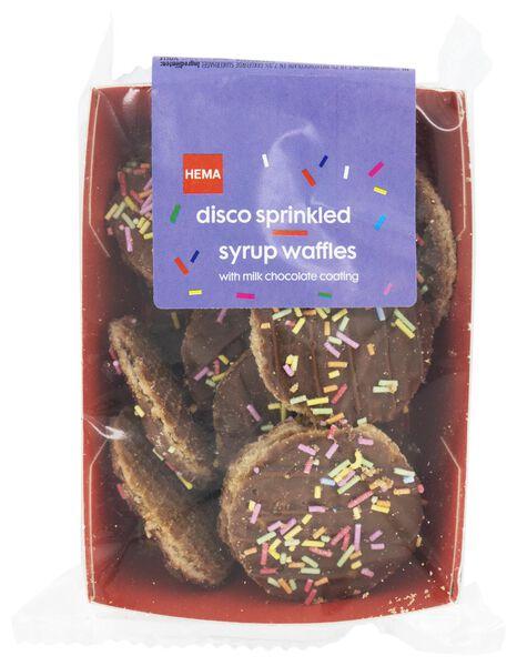 treacle wafer chocolate coloured chocolate hail 145 grams - 10820002 - hema