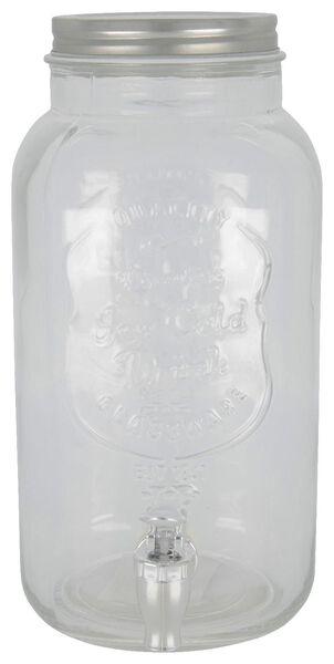 HEMA Getränkespender - Glas - 3.8 Liter