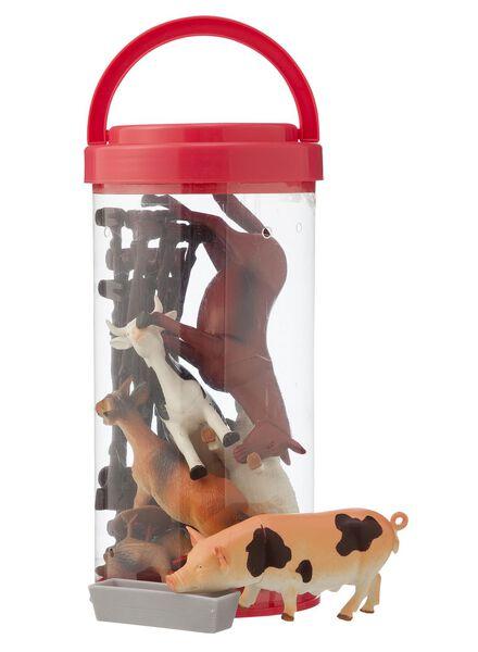 farm animal set - 15100073 - hema