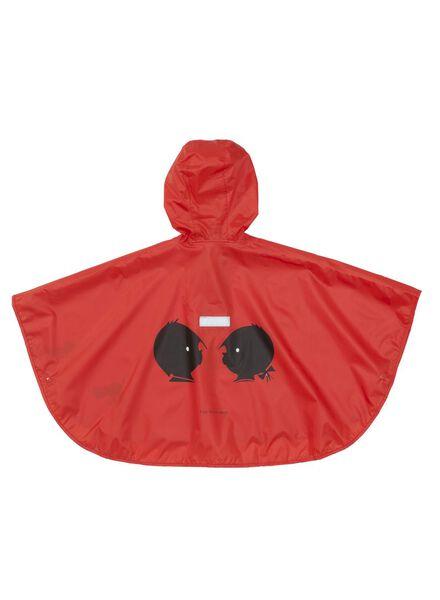 rain cape Jip & Janneke red red - 1000006224 - hema
