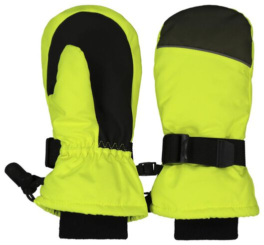 Kinder-Skihandschuhe gelb gelb - 1000020604 - HEMA