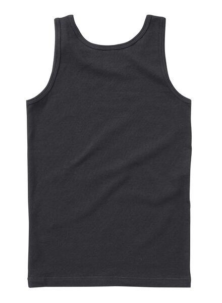 2er-Pack Kinder-Hemden graumeliert graumeliert - 1000001437 - HEMA