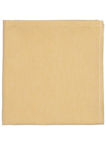 tea towel 65x65 ochre - 5400110 - hema