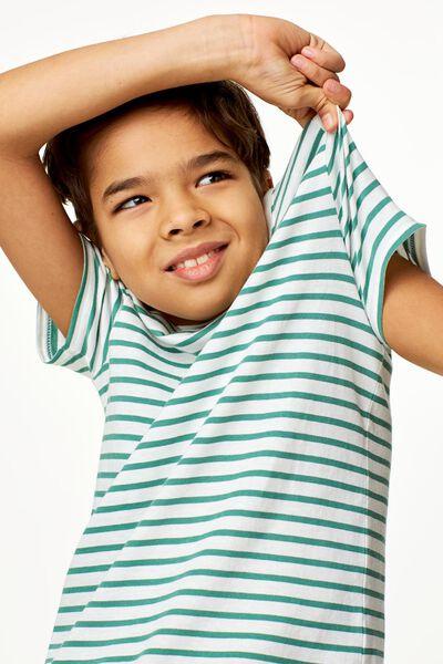 Kinder-T-Shirt, Streifen grün grün - 1000023133 - HEMA