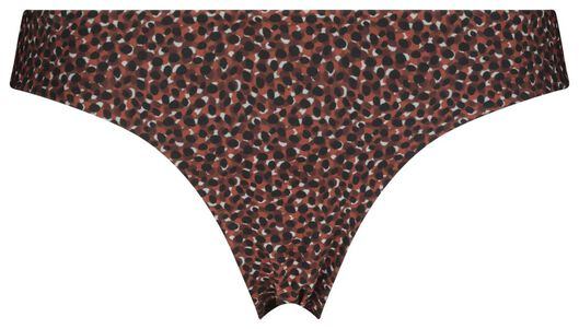 Bademode - HEMA Damen Bikinislip, Punkte Rot  - Onlineshop HEMA