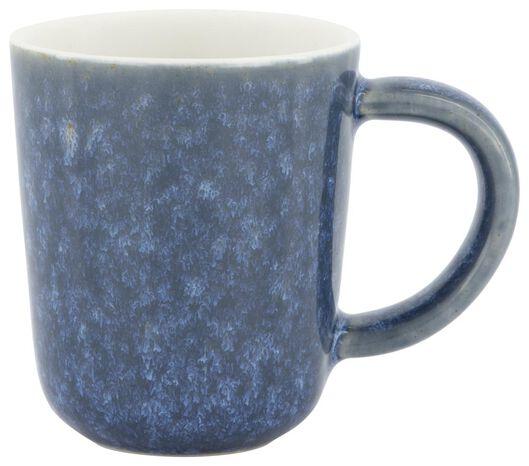 mug à expresso Chicago 80 ml émail réactif bleu - 9602154 - HEMA