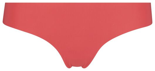 women's thong micro lace red red - 1000018621 - hema
