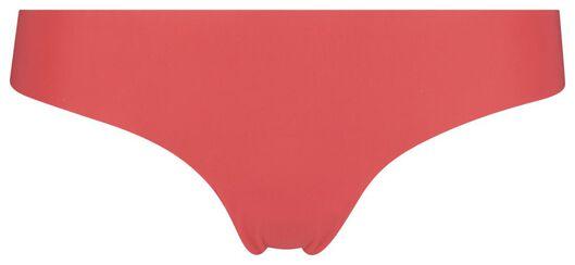 string femme micro en dentelle rouge rouge - 1000018621 - HEMA