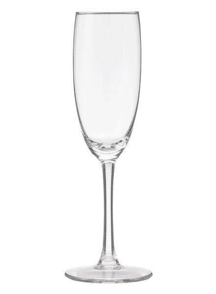 4 verres à champagne 190ml - 9402021 - HEMA