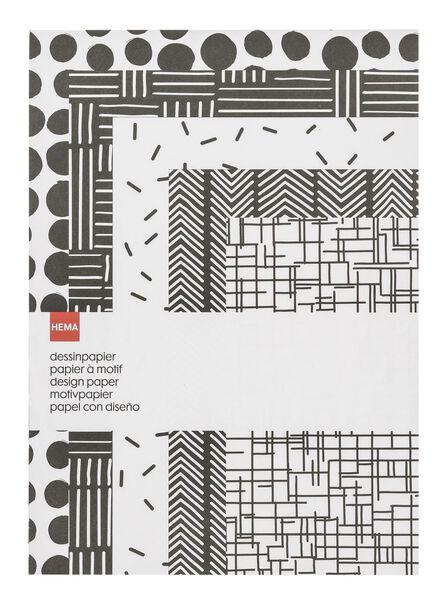 Musterpapier - 14101363 - HEMA
