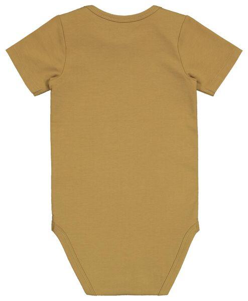 Body, Biobaumwolle, Stretch senfgelb senfgelb - 1000022551 - HEMA