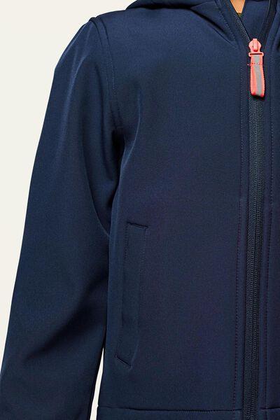 manteau enfant léopard magique bleu foncé bleu foncé - 1000022354 - HEMA